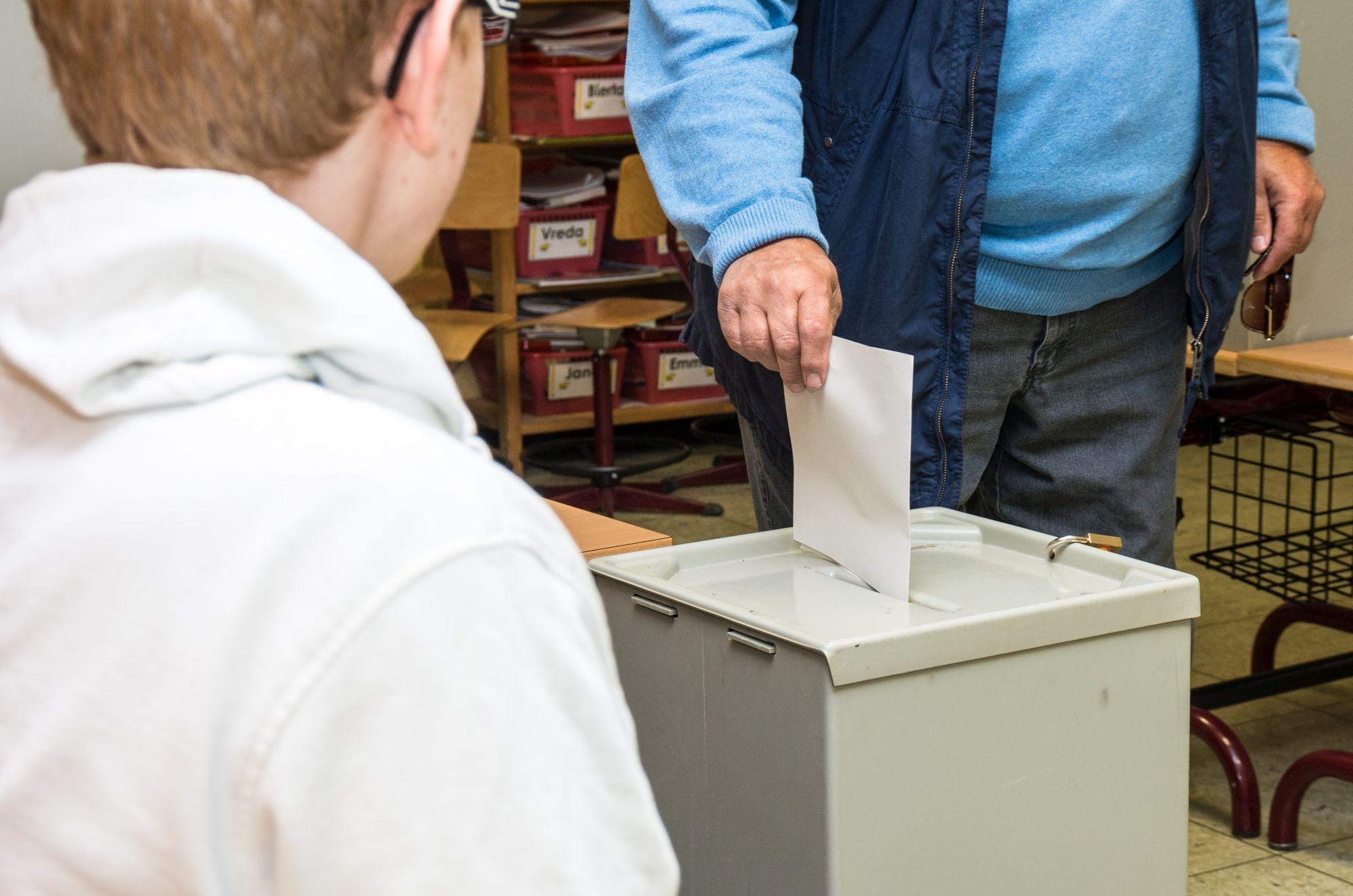 Briefwahl Abgabe Im Wahllokal